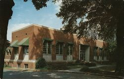 Elbert Ivey Memorial Library Postcard