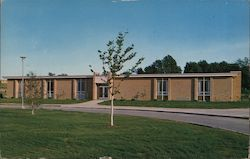 All Purpose Building at Ferris State College Postcard