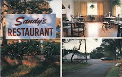 Sandy's Restaurant, Seafood on Route 6A