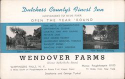 Wendover Farms and Inn Postcard