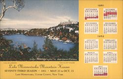 1951 Lake Minnewaska Mountain Houses