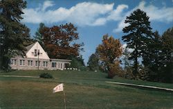 The Club House as seen from the Golf Course - Hendersonville Country Club