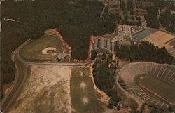 Aerial View West Campus Duke University Postcard