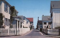 Gosnold Street, looking towards the Harbor Postcard
