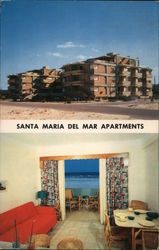 Santa Maria Del Mar Apartments Postcard
