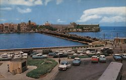 Willemstad's Famous Queen Emma Pontoon Bridge Postcard