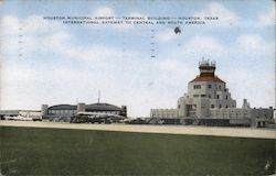 Houston Municipal Airport, Terminal Building
