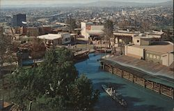 View from the Crusades Tower, Upper Lot, Universal City Studios