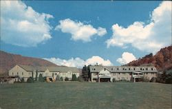 Waynesville Country Club as Seen from Golf Course Postcard