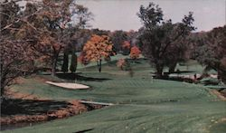 Brookside Country Club - Hole No. 4 Postcard