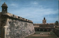 Golfing at El Morro Postcard