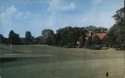 Ulon Country Club Golf Course Postcard