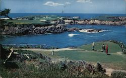 Famous 16th Hole at Cypress Point Golf Course