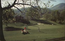Springdale Country Club Postcard