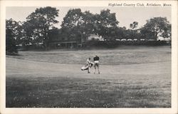 Highland Country Club Postcard