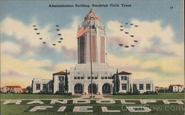 Administration Building Randolph Air Force Base Texas