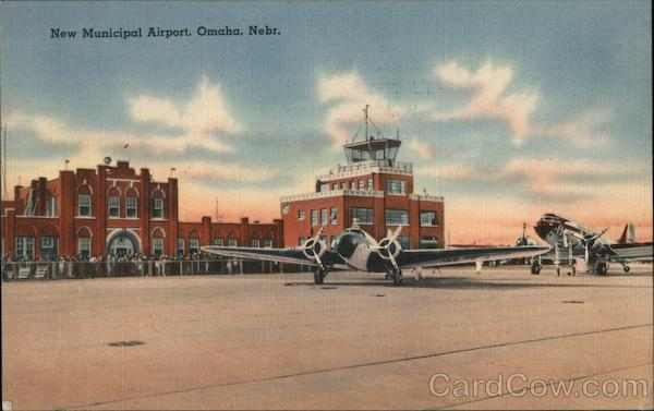 New Municipal Airport Omaha Nebraska