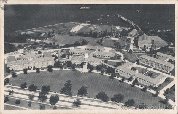 Aerial View of Grounds U.S. Coast Guard Academy