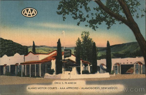 Alamo Motor Courts - AAA Approved Alamogordo New Mexico