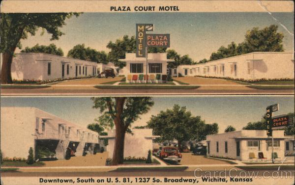 Plaza Court Motel Wichita Kansas