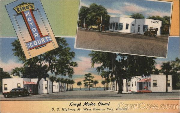 King's Motor Court Panama City Florida