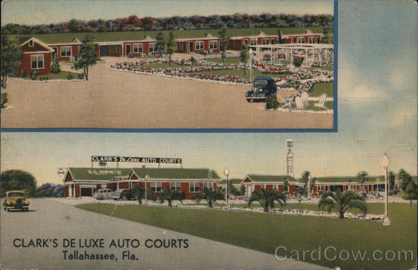 Clark's De Luxe Auto Courts Tallahassee Florida