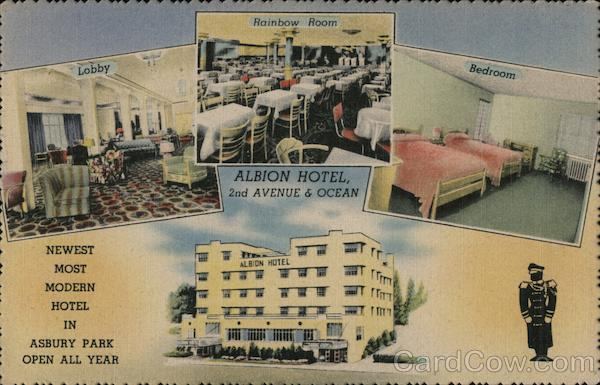 Albion Hotel Asbury Park New Jersey