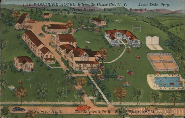 The Woodbine Hotel - An Ideal Summer and Winter Resort - Kosher
