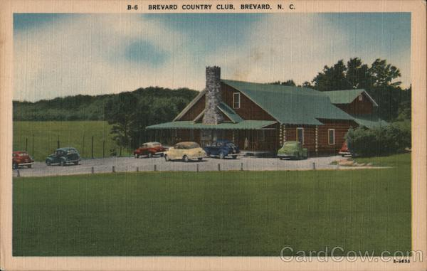 Brevard Country Card North Carolina