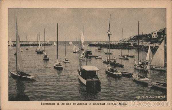 Sportsmen of the Sea at Anchor Rockport Massachusetts
