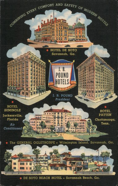 J.B. Pound Hotels Georgia