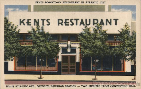 Kents Downtown Restaurant Atlantic City New Jersey