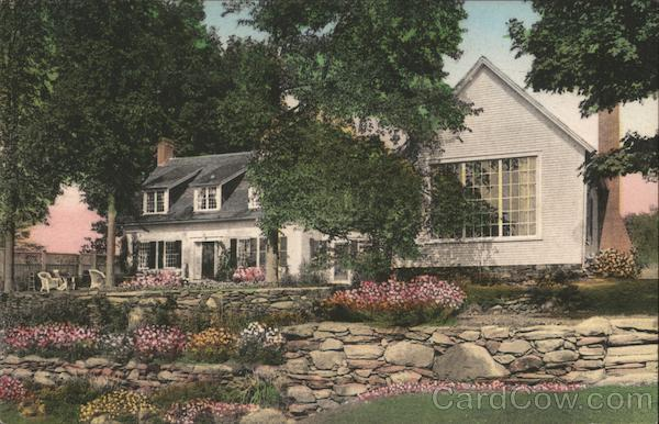 Summer Home of Mr. Sinclair Lewis Near Woodstock Vermont