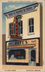 Pete's Air-Conditioned Cafe