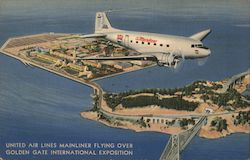 United Air Lines Mainliner - Golden Gate International Expo