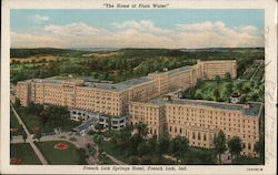 French Lick Springs Hotel, The Home of Pluto Water