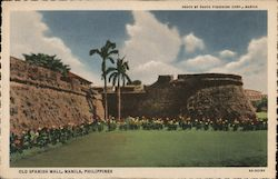 Old Spanish Wall Postcard