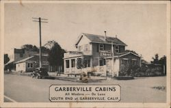 Garberville Cabins, All Modern and De Luxe