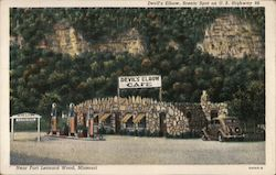 Devil's Elbow Cafe Postcard