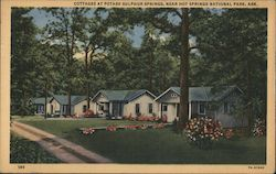 Cottages at Potash Sulphur Springs Postcard