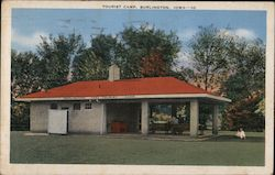 Tourist Camp Postcard