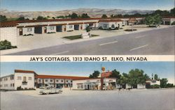 Jay's Cottages, 1313 Idaho St. Postcard