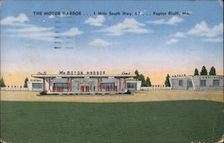 The Motor Harbor Postcard