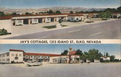 Jay's Cottages Postcard
