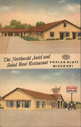 The Northwold Autel and Salad Bowl Restaurant Postcard