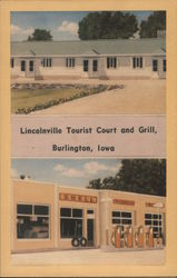 Lincolnville Tourist Court and Grill Postcard