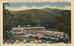 Casino and Tennis Court, Greenbrier Hotel (2000 Ft Elevation)