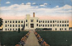 Alpena General Hospital Postcard