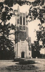 Beaumont Memorial Tower - Michigan State College