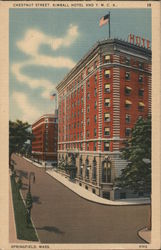 Chestnut Street, Kimball Hotel and YMCA